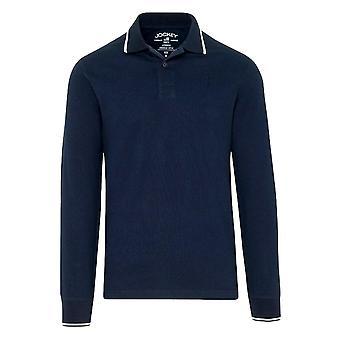 Jockey Long Sleeve Polo Shirt - Navy