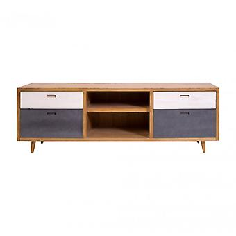 Long Low Dresser In Nordic Style Furniture For Living-Re4794-Rebecca