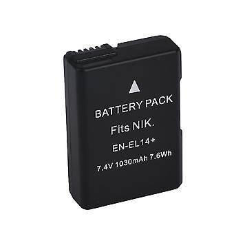EN-EL14 Batteri till Nikon D3100 D5100 Coolpix P7000 P7800 Etc