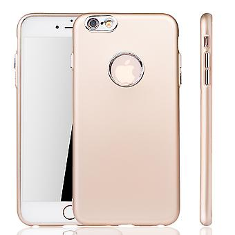 Apple iPhone 6 / 6s Plus Hülle - Handyhülle für Apple iPhone 6 / 6s Plus - Handy Case in Gold