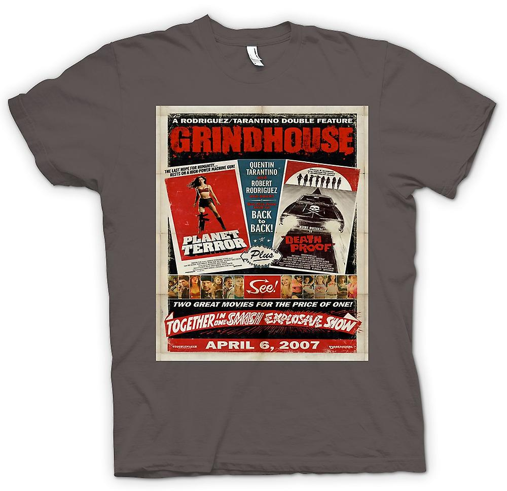 T-shirt-Grindhouse Planet Terror / Death Proof