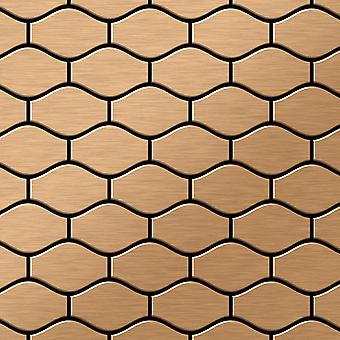 Metal mosaic Titanium ALLOY Karma-Ti-AB