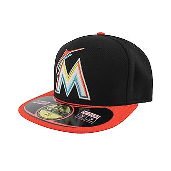 New Era 59Fifty MLB Miami Marlins Cap schwarz