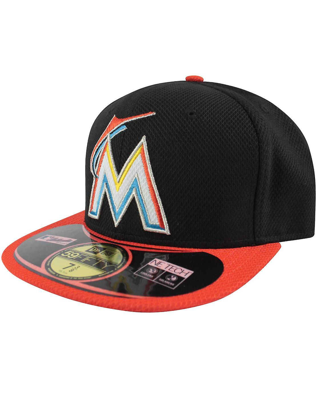 New Era 59Fifty MLB Miami Marlins Cap Black