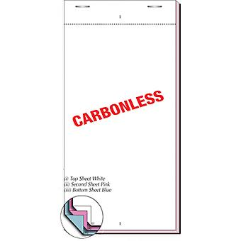 Restaurant Pads / Waiter Order Pads - 3 Ply Multicoloured - 50 Sheets per Pad - 50 Pads per Box