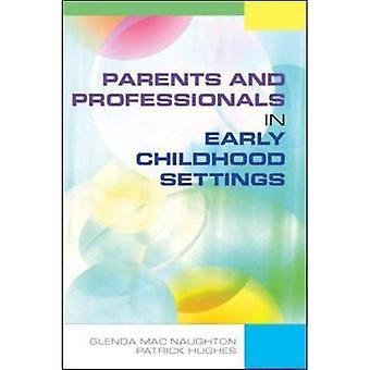 Parents et professionnels dans les milieux de la petite enfance