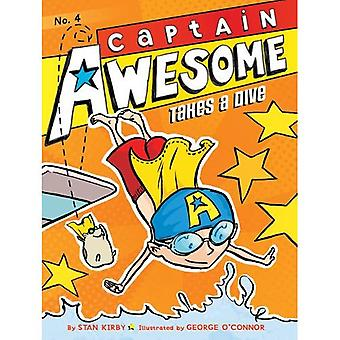 Captain Awesome neemt een duik (Captain Awesome