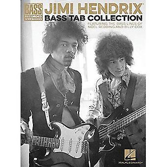 Jimi Hendrix-Bass Tab Collection - Bass Versionen aufgenommen