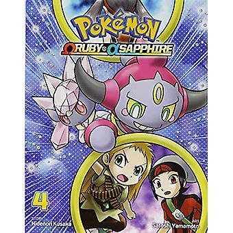 Pokemon Omega Ruby alfa Sapphire, Vol. 4 (Pokemon)