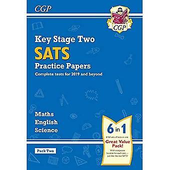Nya KS2 komplett SATS praktiken papper Pack: Vetenskap, matematik & engelska (för 2019 tester) - Pack 2
