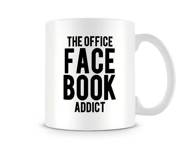 The Office Facebook Addict Mug