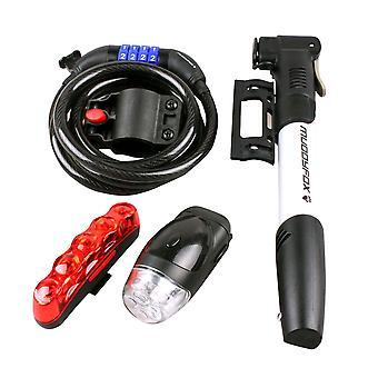 Muddyfox Unisex Light Lock And Pump Set