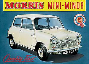 Morris Minor Steel Sign  (og)