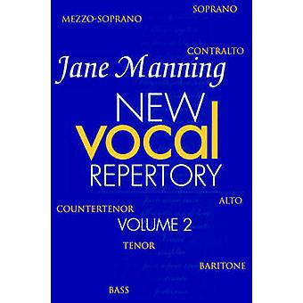 New Vocal Repertory Volume 2 by Manning & Jane