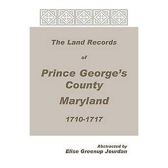 Die Flurstücke der Prinz Georges County Maryland 17101717 von Jourdan & Elise Greenup