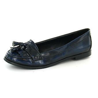 Spot On Slip On Shoes With Fringe Tassel