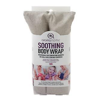 Aroma Home Fine cordon apaisant lavande blé sac : gris