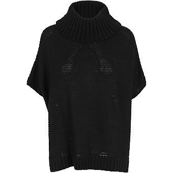 Urban Classics Women's Poncho Knitted