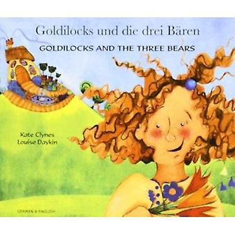 Goldilocks and the Three Bears in German and English by Kate Clynes -