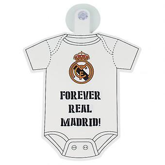 Real Madrid Baby auf Brettzeichen