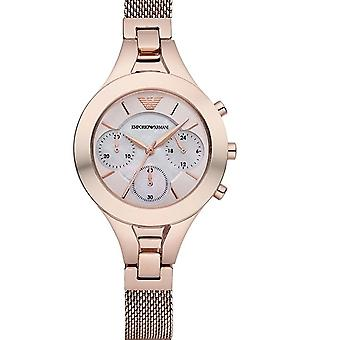 Emporio Armani Classic Ar7391 Rose Gold Stainless Steel Watch