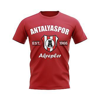 Antalyaspor établi football T-Shirt (rouge)