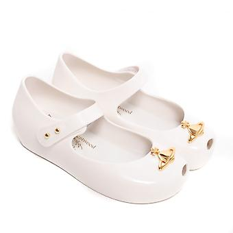 Melissa Shoes Mini VW Ultragirl 19 Shoes,White Orb