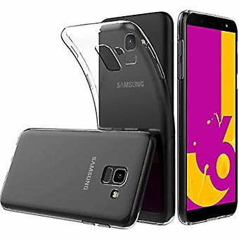 Cover Samsung J6 2018 in translucent rubber