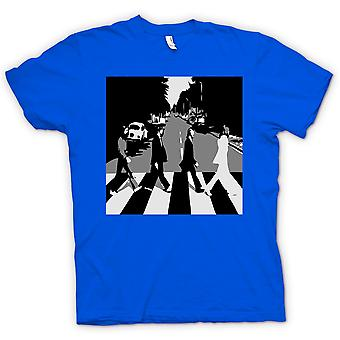 Dla dzieci T-shirt - The Beatles Abbey Road - BW