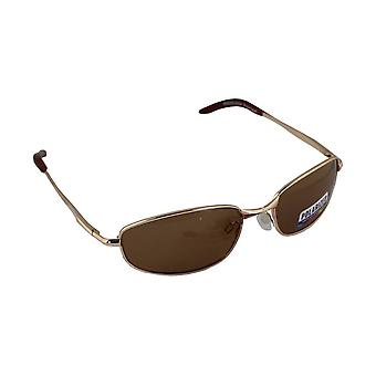 Sonnenbrille Sport Rechteck polarisierenglas goldbraun FREE BrillenkokerS306_2