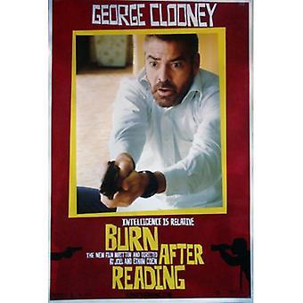 Burn After Reading (Single Sided) Original Cinema Poster