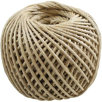 Jute Rope 4 Ply 100 Yards Spool Natural Jr05 12