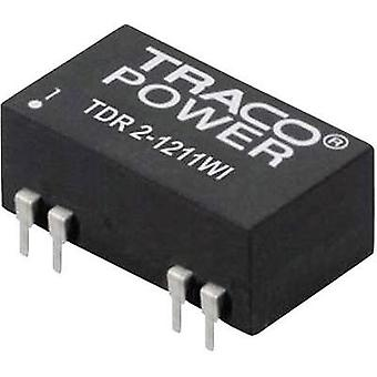 DC/DC converter (print) TracoPower 48 Vdc 12 Vdc 167 mA 2 W No. of outputs: 1 x