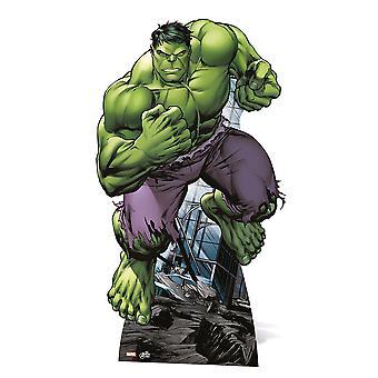 Der Hulk-Mini-Karton-Ausschnitt / f / Standup - bewundern Sie die Avengers Super Hero