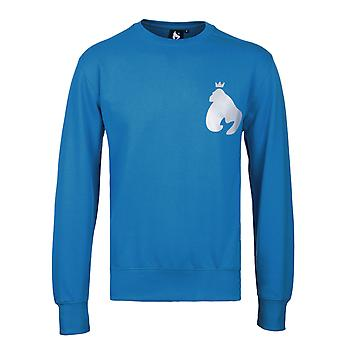 Money Blue Reflective Ape Crew Neck Sweatshirt