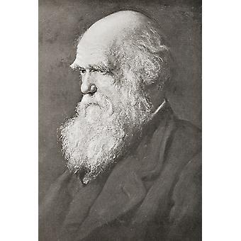 Charles Robert Darwin 1809 PosterPrint