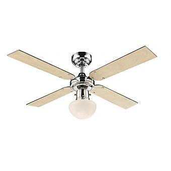 Globo ceiling fan Champion Chrome 105 cm / 42