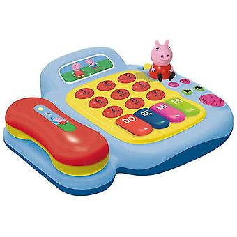 Reig Telephone And Piano Activity C / Fig.peppa Pig