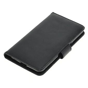 In similpelle di custodia cover custodia OTB per mobile CoolPad Porto S Bookstyle nero nuovo