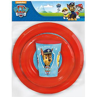 Paw Patrol dining sets 3 pieces
