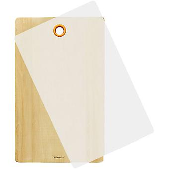 Fiskars FunctionalForm wooden cutting board 2pc