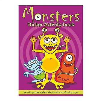 Monster Sticker Activity Book
