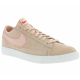 NIKE Blazer low shoes mens leather sneaker pink 371760 801