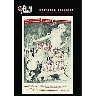 Karneval af sjæle [DVD] USA importerer