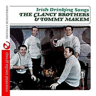 Clancy Brothers & Tommy Makem - irische trinken Lieder [CD] USA import