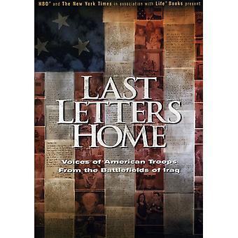 Siste brev hjem [DVD] USA import