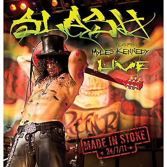 Slash - lavet i Stoke 24/7/11 [CD] USA importerer