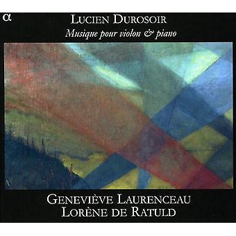 Durosoir - Lucien Durosoir: Musique Pour Violon Et Piano [CD] USA import