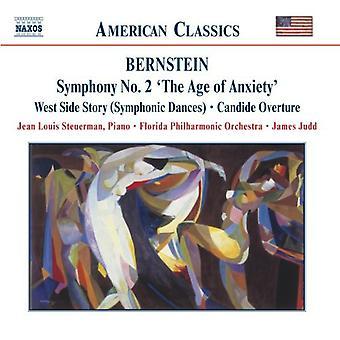 L. Bernstein - Bernstein: Sinfonia n. 2 l'età dell'ansia; West Side Story Danze sinfoniche; Importazione USA candide [CD]