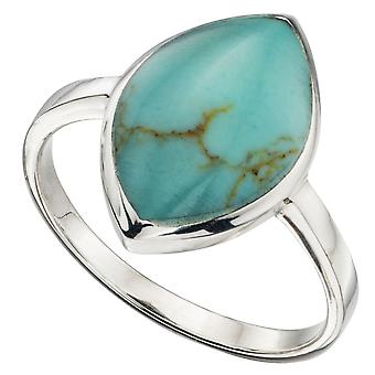 925 Silver Fashionable Turquoise Ring